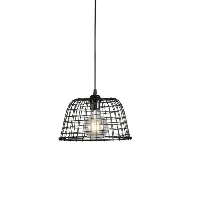Hanglamp-Basket-24-zwart