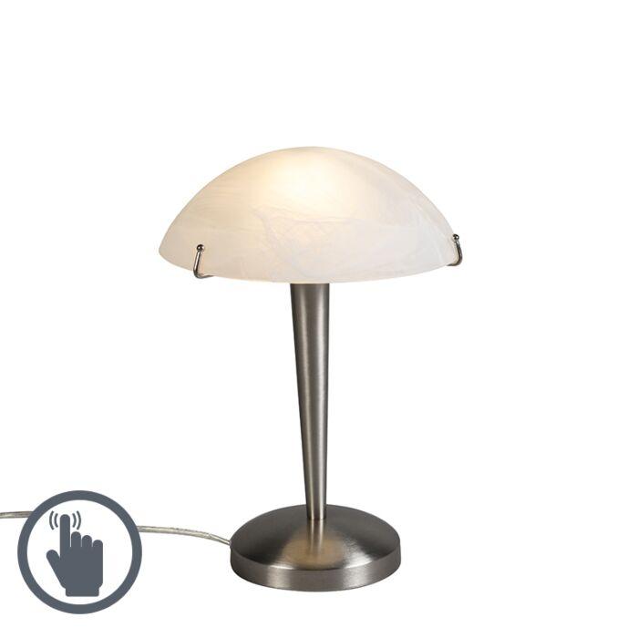 Tafellamp-Tablet-2-staal-met-touch