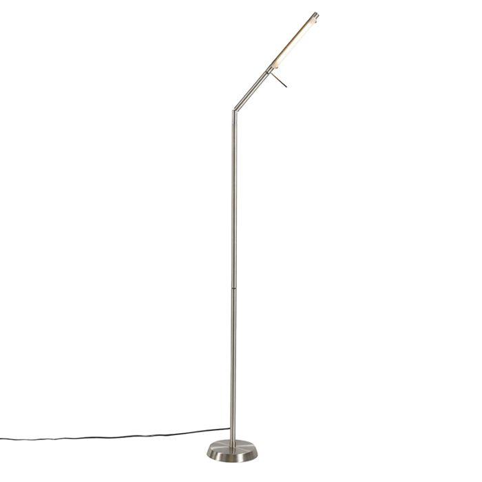 Vloerlamp-Palis-zilver