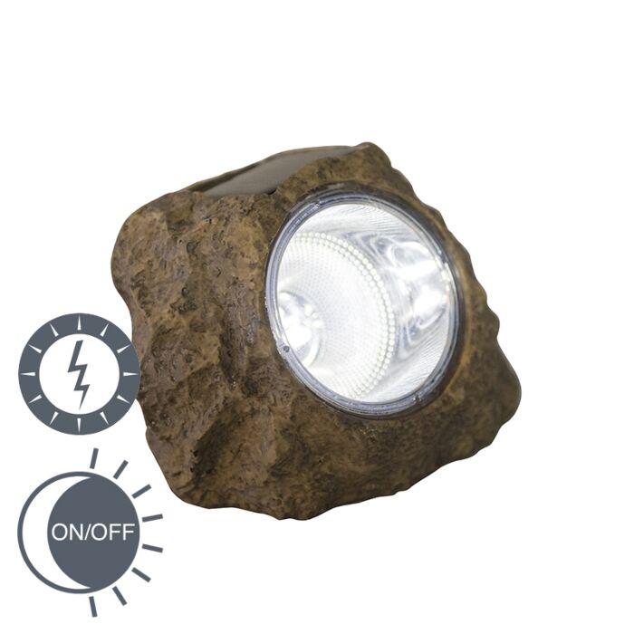Buitenlamp-incl.-LED-op-zonne-energie---Rocky