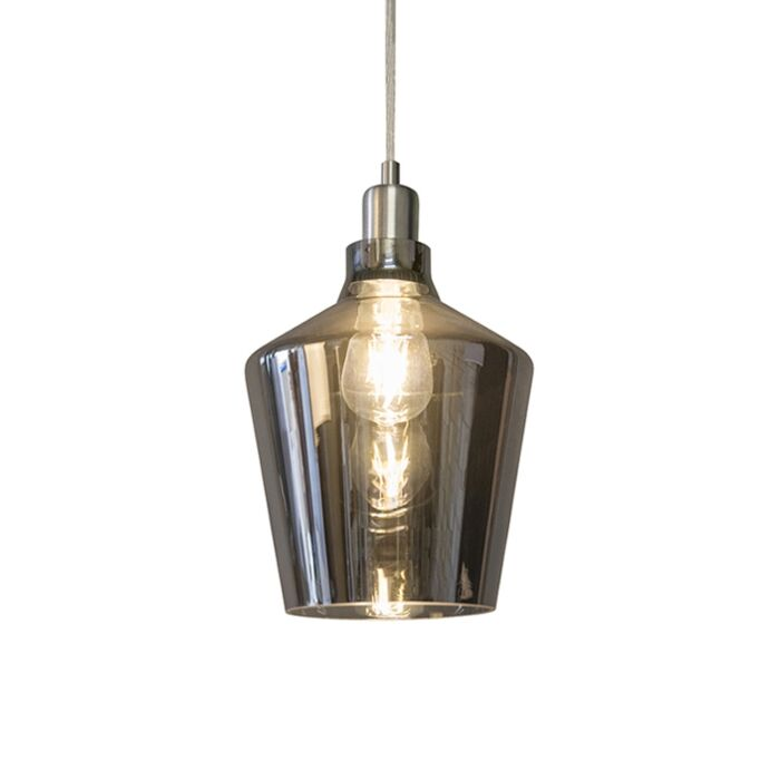 Art-Deco-hanglamp-rookglas---Penta