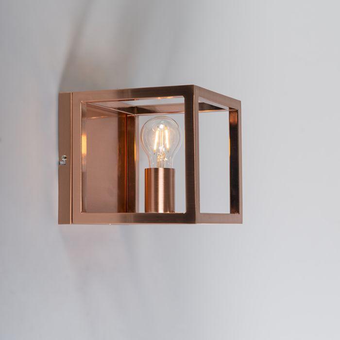 Wandlamp-Cage-1-koperen-lamp
