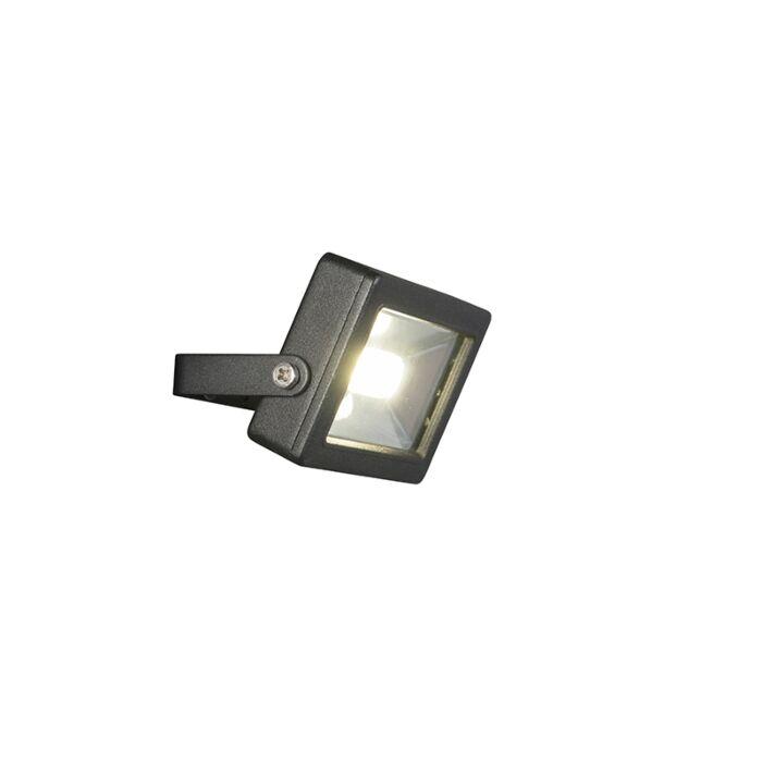Moderne-straler-zwart-incl.-LED-10W---Telix