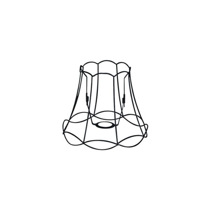 Metalen-lampenkap-zwart-25/21---Granny-Frame