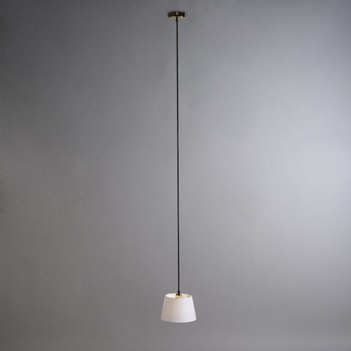 Hanglamp-Cava-1-goud-met-witte-kap