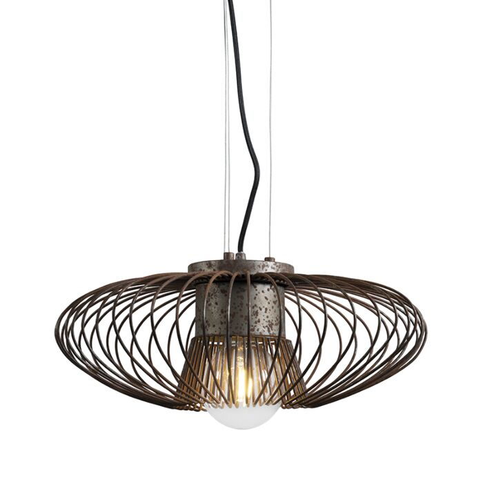 Hanglamp-Bozzo-roest