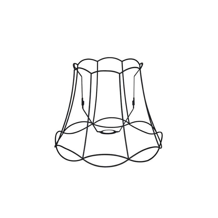 Metalen-lampenkap-zwart-40/31---Granny-Frame