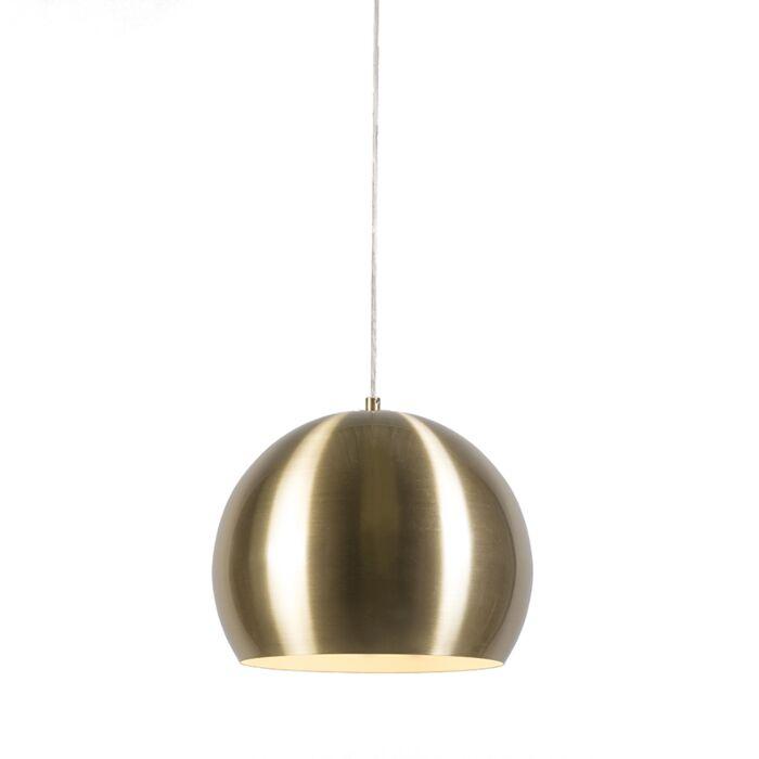 Hanglamp-Orb-goud-28cm