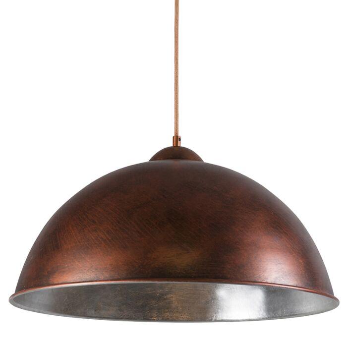 Hanglamp-Onero-koper-zilver