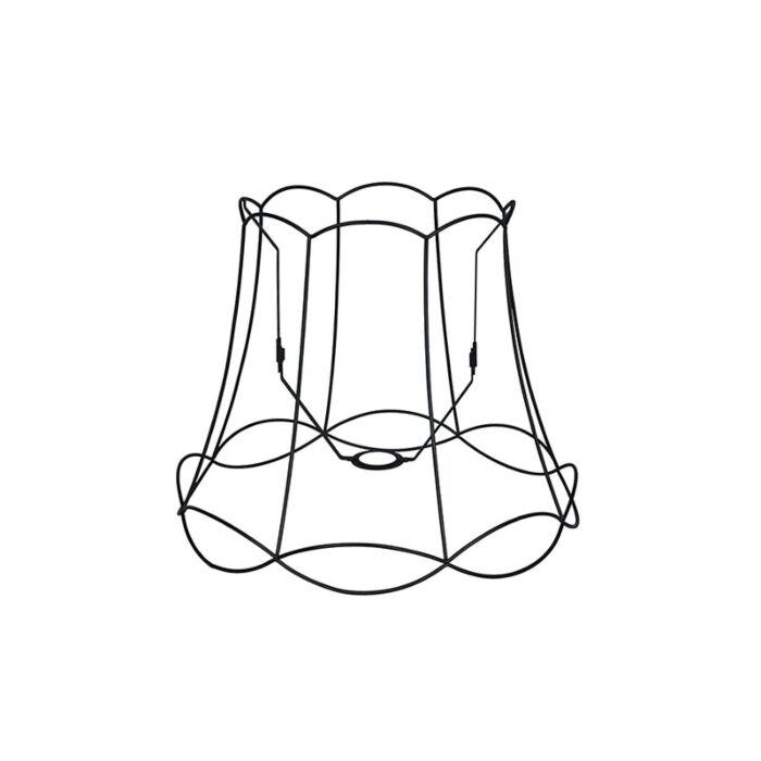 Metalen-lampenkap-zwart-45/36---Granny-Frame