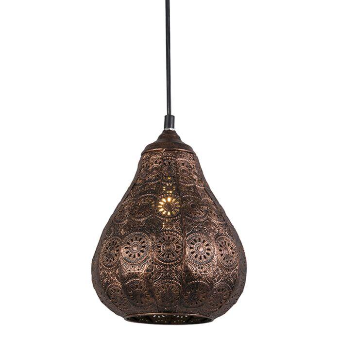 Oosterse-hanglamp-koper---Billa