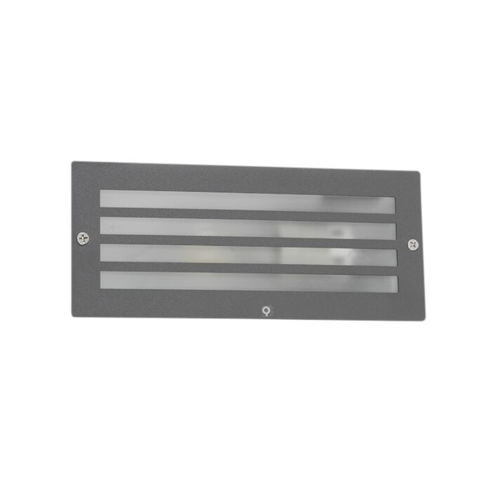 Moderne-inbouwlamp-donker-grijs-IP44---Hurricane