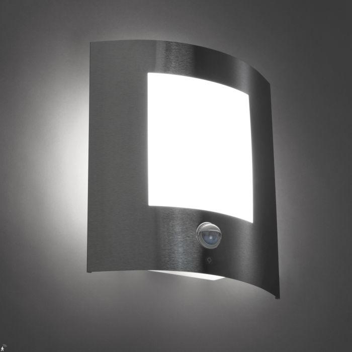 Moderne-buitenwandlamp-staal-bewegingssensor-IP44---Emmerald-1