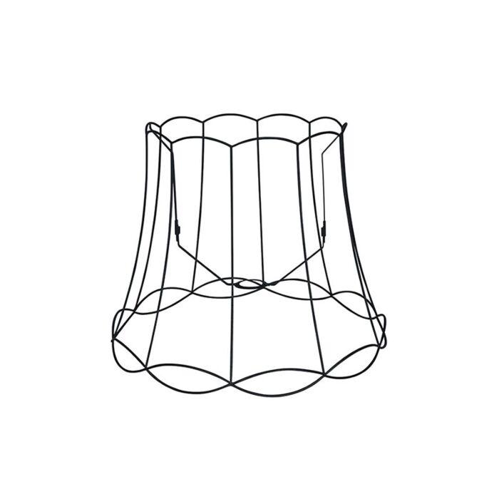 Metalen-lampenkap-zwart-50/40---Granny-Frame