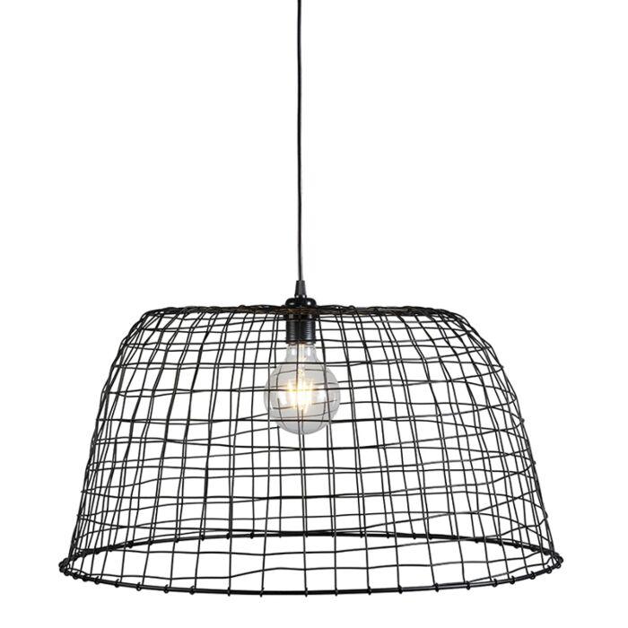 Hanglamp-Basket-60-zwart
