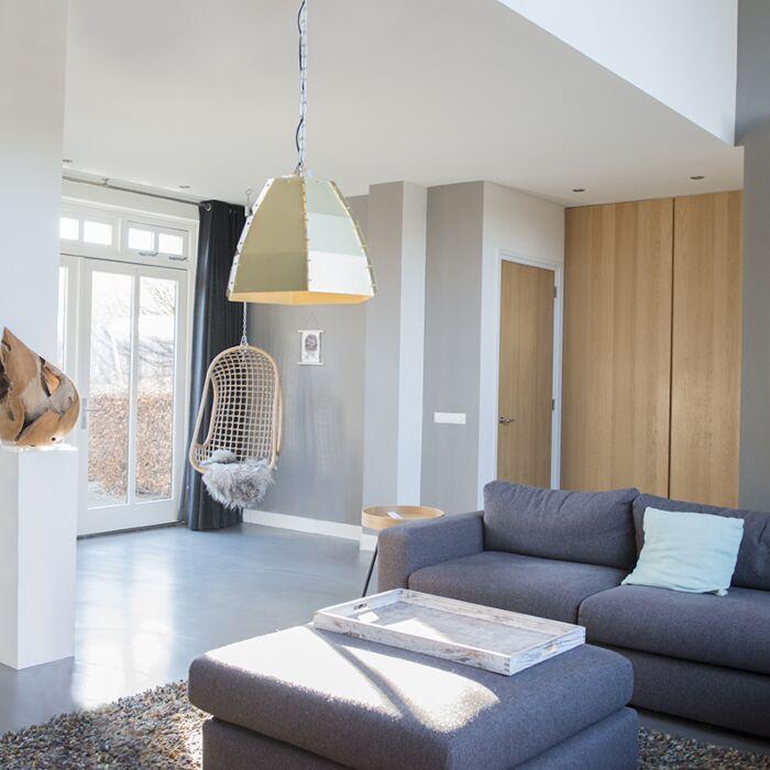 Design-hanglamp-goud/messing---Niro