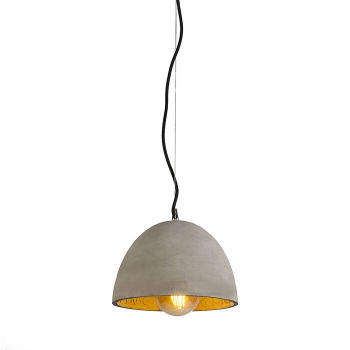 Hanglamp-Cupola-beton