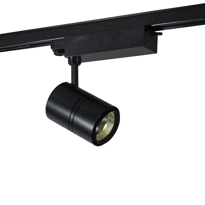 Dimbare-3-fase-railspot-zwart-incl.-LED-4000K---Ruler-38