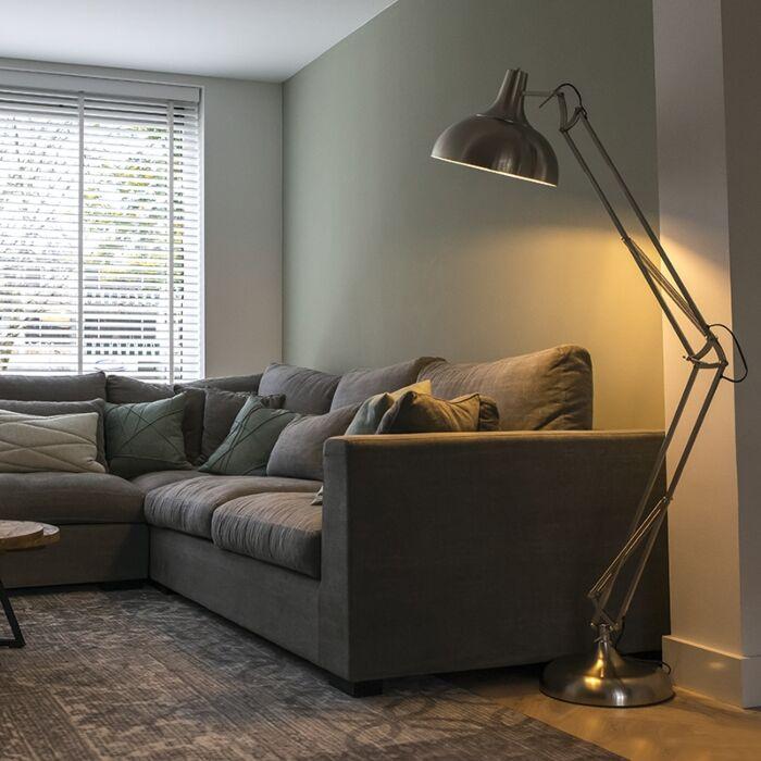Design-vloerlamp-staal---Hobby
