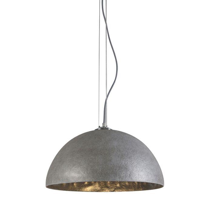 Hanglamp-Magna-50-grijs---zilver