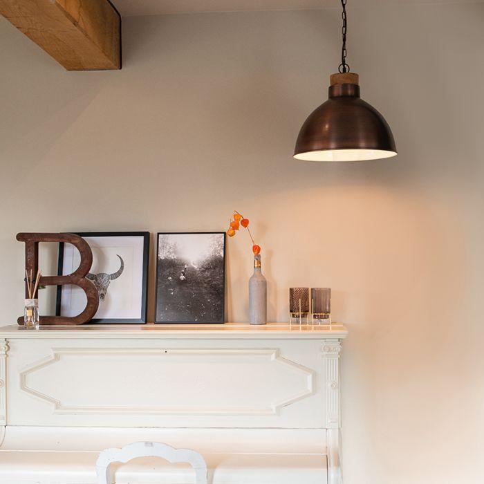 Vintage-hanglamp-koper-met-hout---Pointer