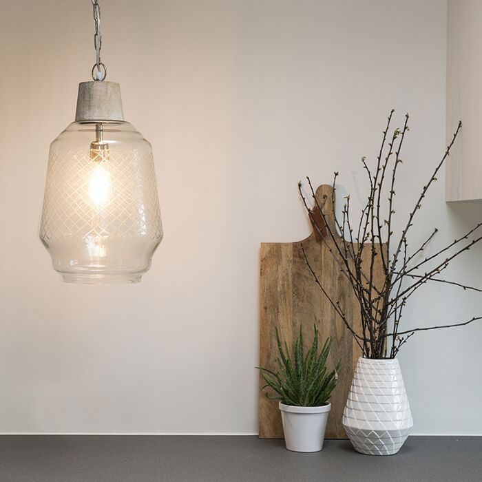 Hanglamp-Aribam-helder-glas