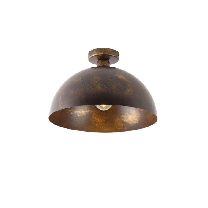 Industriële-plafondlamp-roestbruin-35-cm---Magna-Classic
