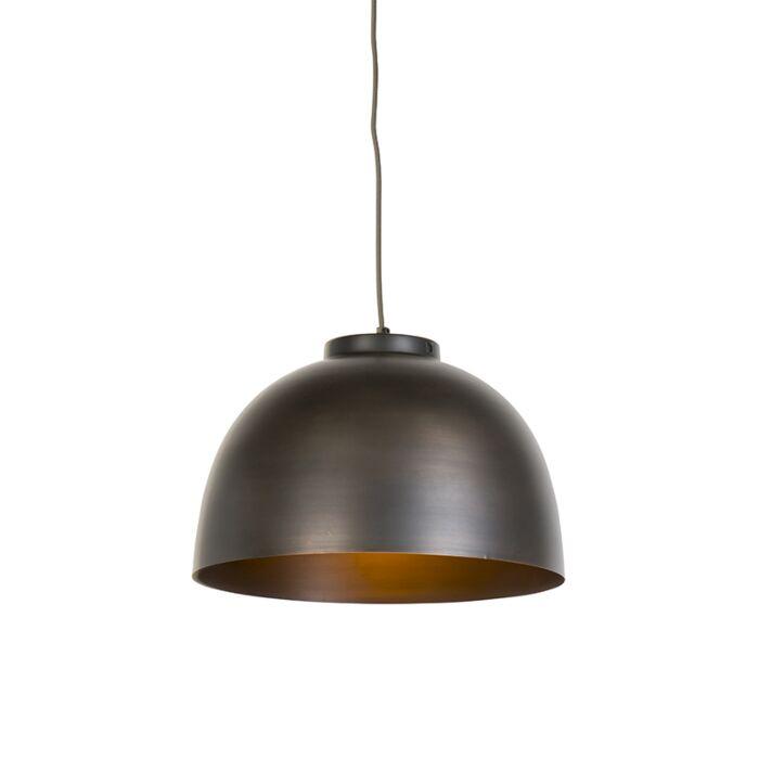 Industriële-hanglamp-bruin-40-cm---Hoodi