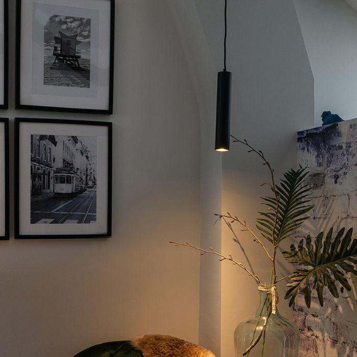Design-hanglamp-zwart---Tuba-small