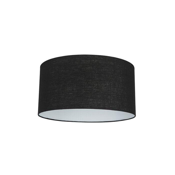 Stoffen-lampenkap-zwart-50/50/25