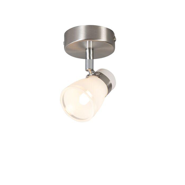 Plafond--en-wandspot-staal-draai--en-kantelbaar-1-lichts---Nadia