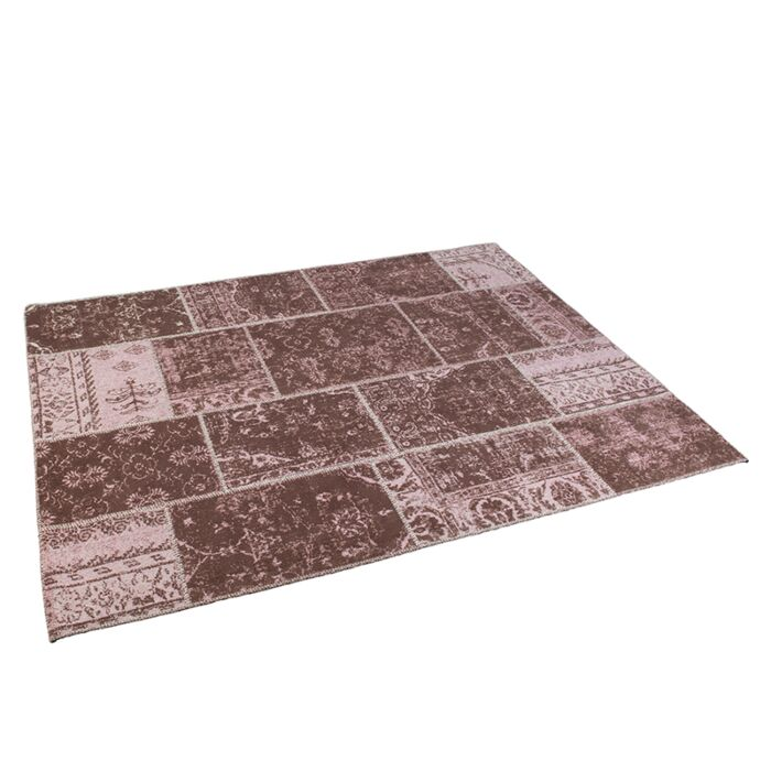 Vintage-rechthoekig-vloerkleed-oud-roze-160-x-230cm---Agra