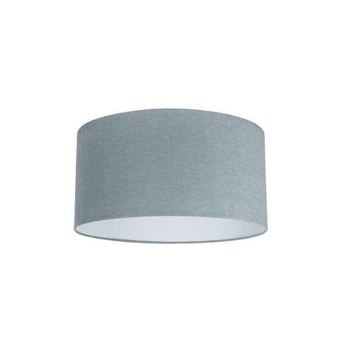 Stoffen-lampenkap-lichtblauw-50/50/25