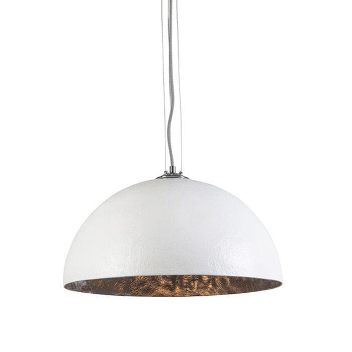 Hanglamp-Magna-50-wit---zilver