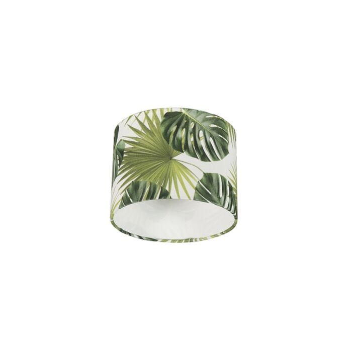 Katoenen-lampenkap-20/20/15---Leaf