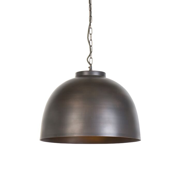 Industriële-hanglamp-bruin-45,5-cm---Hoodi
