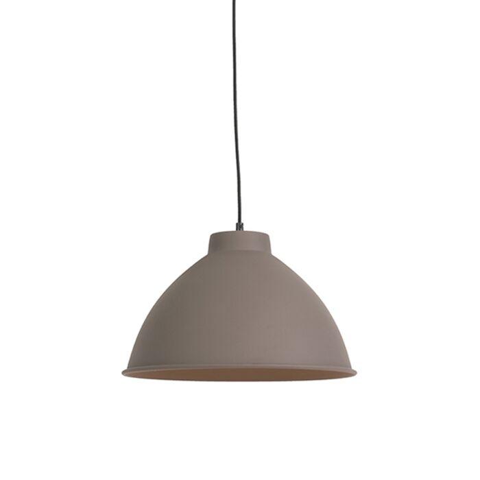 Landelijke-hanglamp-bruin---Anterio-38-Basic