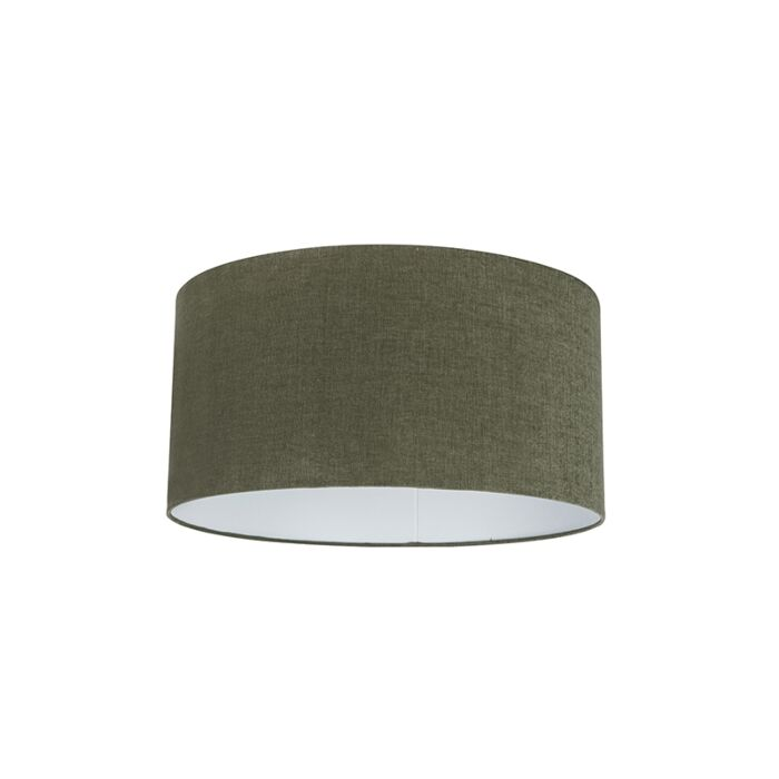 Stoffen-lampenkap-donkergroen-50/50/25