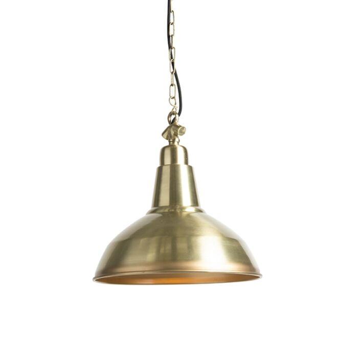 Art-deco-hanglamp-goud/messing---Goliath-large
