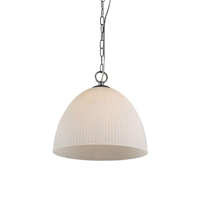 Hanglamp-Siena-35-geribbeld-scavo-glas