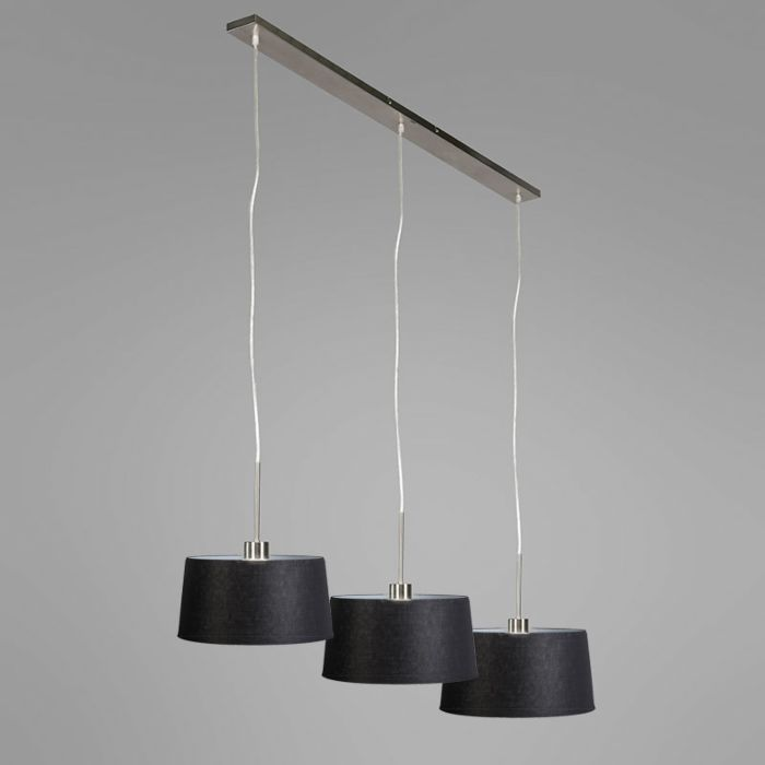 Design-hanglamp-staal-met-35cm-kap---Combi