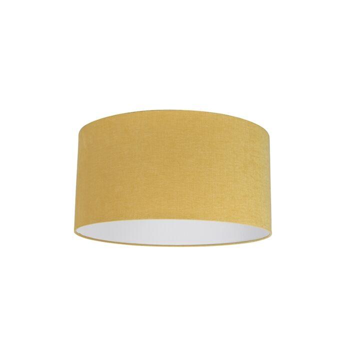 Stoffen-lampenkap-geel-50/50/25