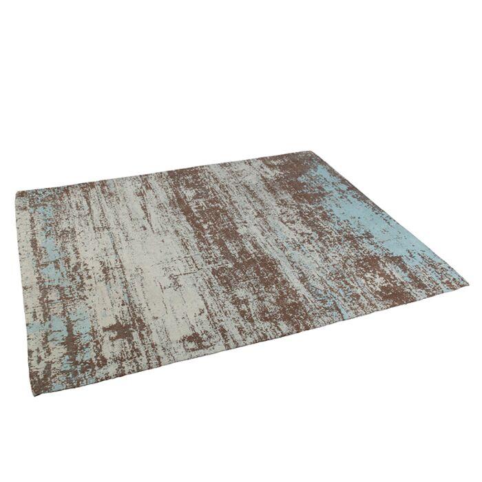 Vintage-rechthoekig-vloerkleed-turquoise-160-x-230cm---Kochi