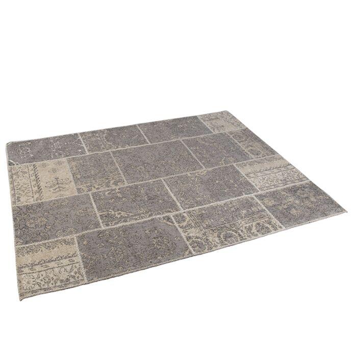 Vintage-rechthoekig-vloerkleed-grijs-160-x-230cm---Agra
