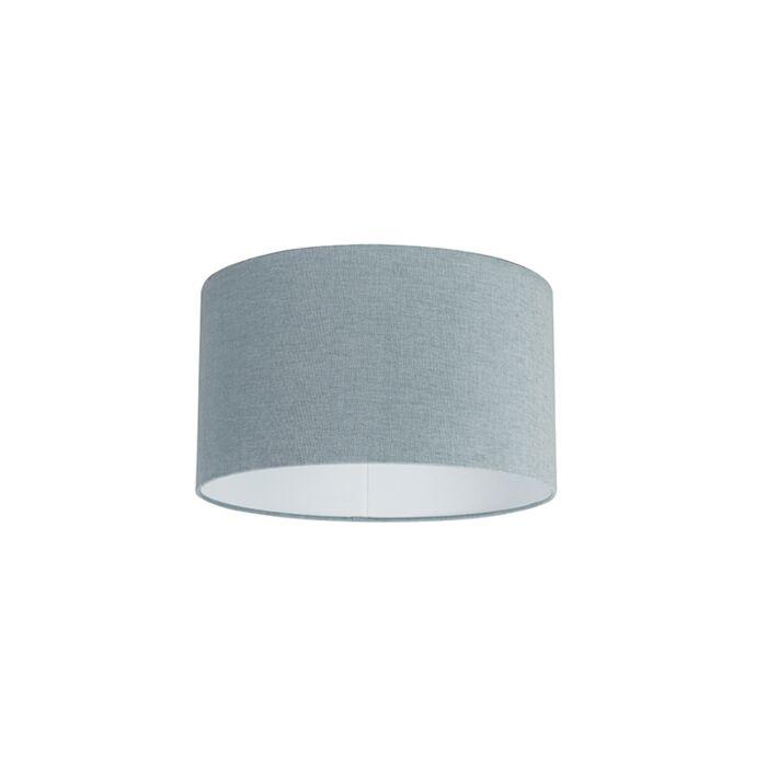 Stoffen-lampenkap-lichtblauw-35/35/20