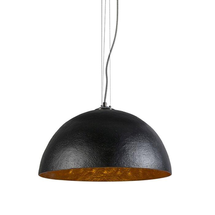 Hanglamp-Magna-50-zwart---goud