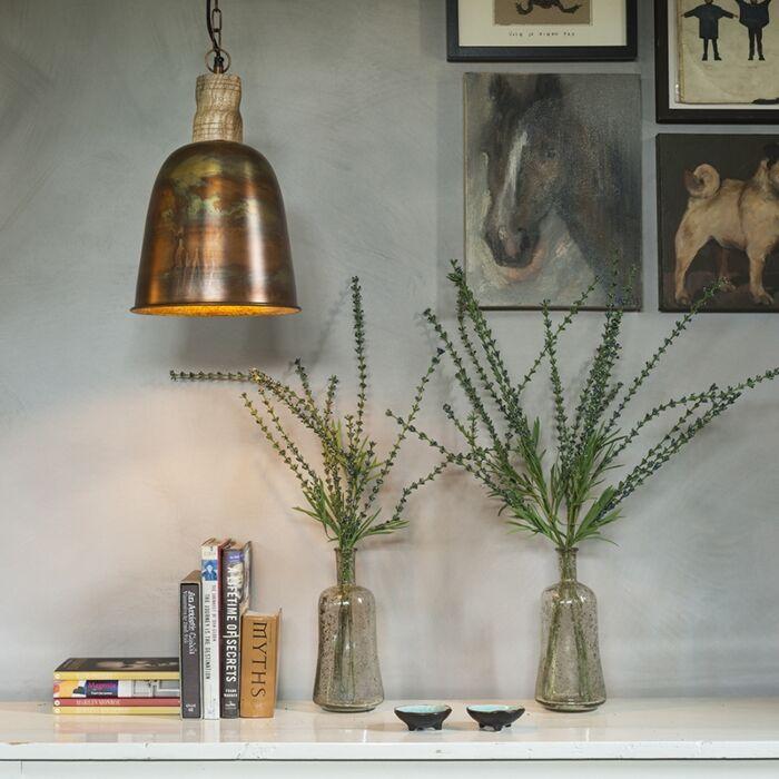 Vintage-hanglamp-koper-met-goud---Burn-1