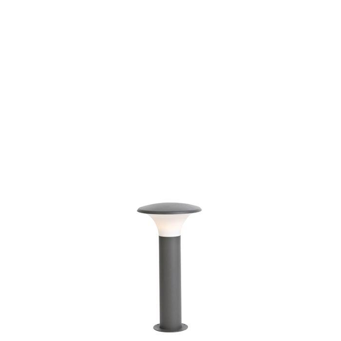 Moderne-buitenlamp-donkergrijs-50cm-incl.-LED---Papi