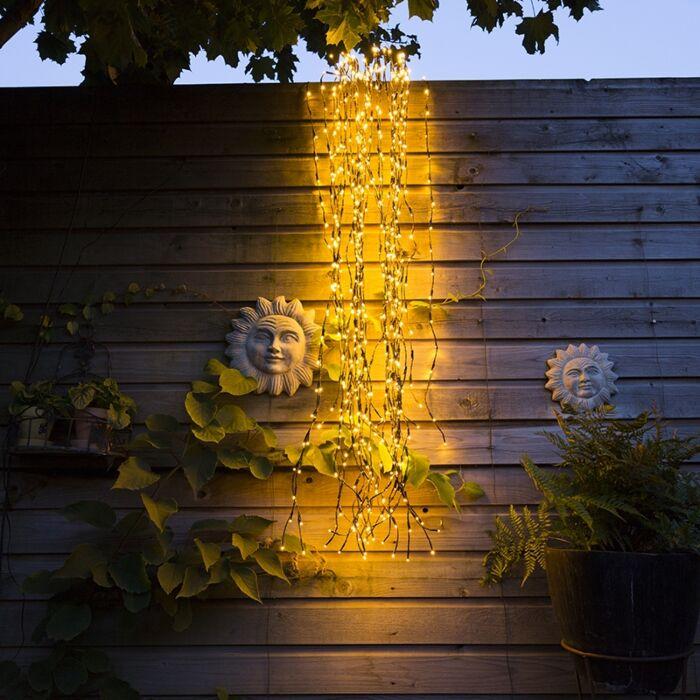 Kerstverlichting-Treurwilg-LED-warm-wit-2-meter