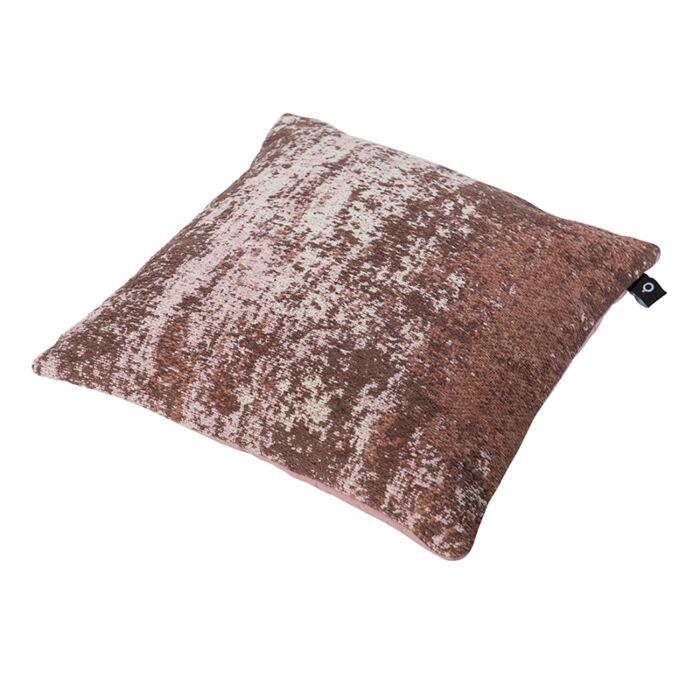 Vintage-vierkant-kussen-oud-roze-45-x-45cm---Kochi